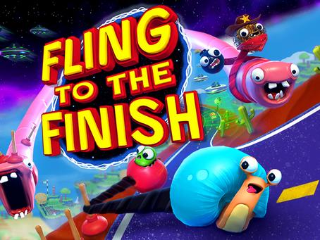 Fling to the Finish bietet viel Spaß mit Freunden