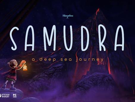 Umweltbewusstes Unterwasser-Abenteuer SAMUDRA erscheint am 29. September auf Steam