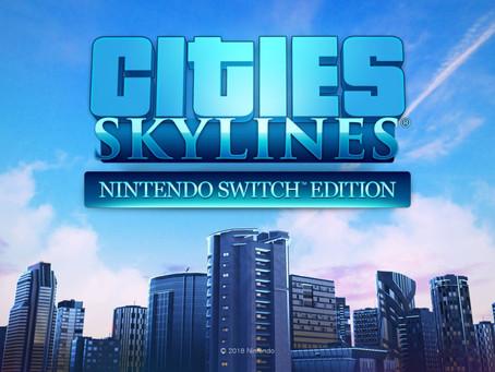 Cities: Skylines für Nintendo Switch ab heute als Box-Produkt erhältlich