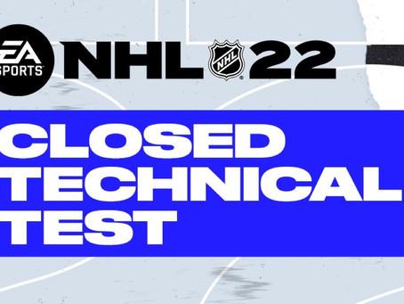 NHL 22 - Electronic Arts ermöglich euch beim Technic Test dabei zu sein!