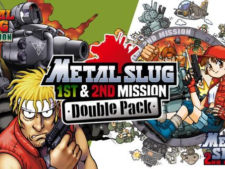 Metal Slug 1st & 2nd Mission ab sofort für Nintendo Switch erhältlich