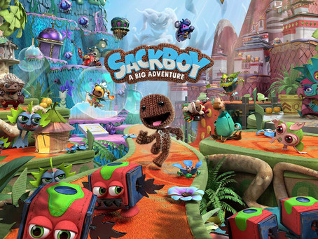 Sackboy: A Big Adventure - Neues Gameplay-Video zeigt den 4-Spieler-Modus