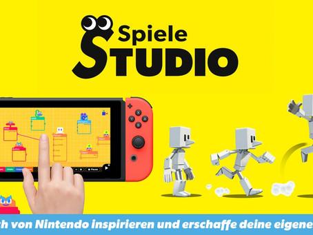 Von Nintendo inspirieren lassen und mit Spielestudio eigene Spiele erschaffen