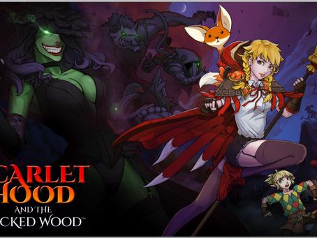 Scarlet Hood and the Wicked Wood erscheint am 8. April für Steam