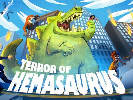 Terror of Hemasaurus für PC und Konsolen angekündigt