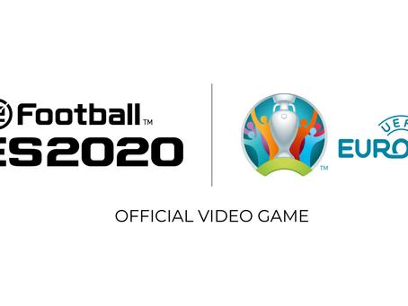 Update zur UEFA Euro 2020™ für eFootball PES 2020 erscheint am 4. Juni