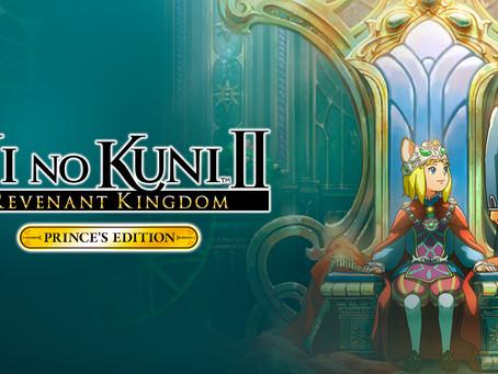 NI NO KUNI II: SCHICKSAL EINES KÖNIGREICHS PRINCES EDITION ist ab sofort für Switch erhältlich
