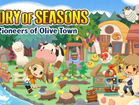 STORY OF SEASONS: Pioneers of Olive Town ist ab sofort für Nintendo Switch™ erhältlich