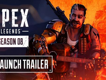 Explosiver Launch-Trailer zu Apex Legends Saison 8 - Chaos veröffentlicht