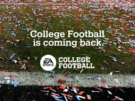 EA bringt wieder wieder College Football-Spiel heraus