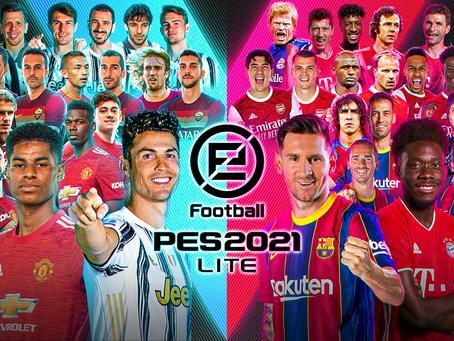 eFootball PES 2021 LITE enthüllt, kostenloser Download ab sofort möglich