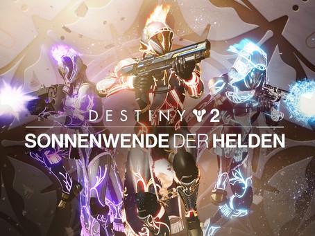 Destiny 2: Ingame-Event 'Sonnenwende der Helden' startet am 6. Juli