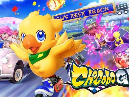 CHOCOBO GP rast 2022 auf Nintendo Switch