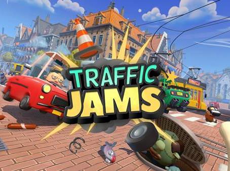 Die witzig-chaotische VR-Simulation Traffic Jams ist ab sofort für PC-VR und Oculus Quest erhältlich