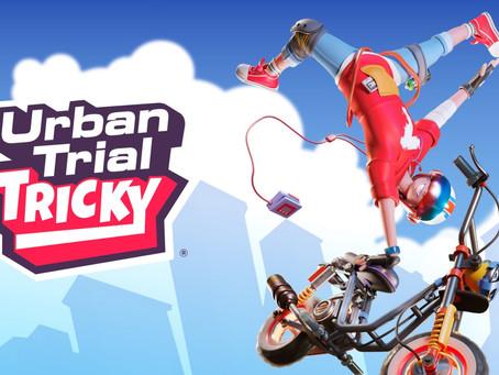 "Killer-Tricks und Motorrad-Flips - Combo-tastische ""Urban Trial Tricky"" - Deluxe Edition angekündigt"
