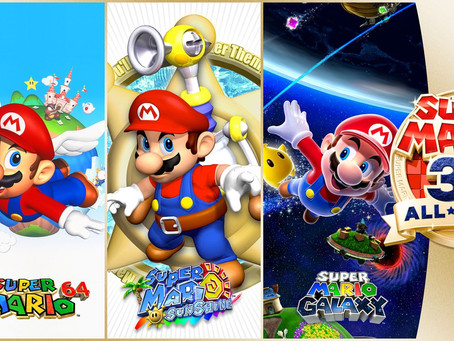 Super Mario 3D All-Stars - Ab sofort für die Nintendo Switch