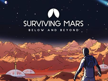 Surviving Mars: Below and Beyond - Erweiterung erscheint am 7. September