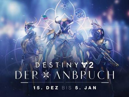 Destiny 2: Festtagsfreuden und Vorbereitungen der Hüter auf den Anbruch
