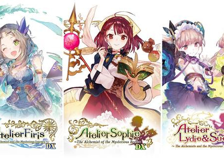 Atelier Mysterious Trilogy Deluxe Pack ab sofort erhältlich