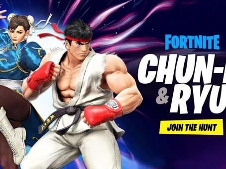 Fortnite trifft auf Street Fighter