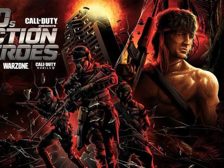 Call of Duty: Black Ops Cold War & Warzone bald mit Rambo & John McClane