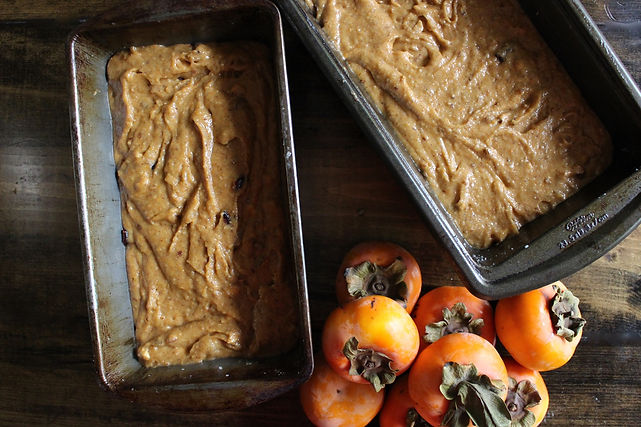 Persimmon Bread Recipe with Almond Meal | Big Tree Organic Farms
