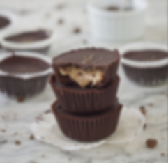 Dark Chocolate Almond Butter Cups Recipe | Big Tree Organic Farms