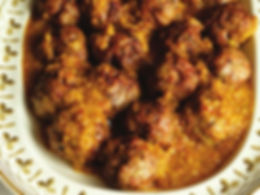 Turkey Meatballs in Almond Sauce Recipe   Big Tree Organic Farms