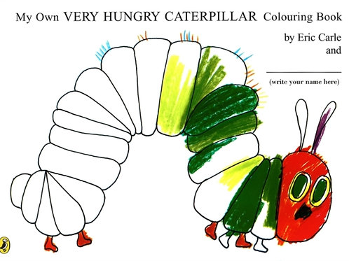 The Very Hungry Caterpillar Colouring Book