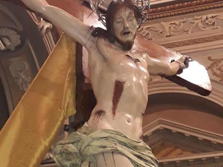 IL CROCIFISSO ALTRO GONFALONE DI MARCIANISE