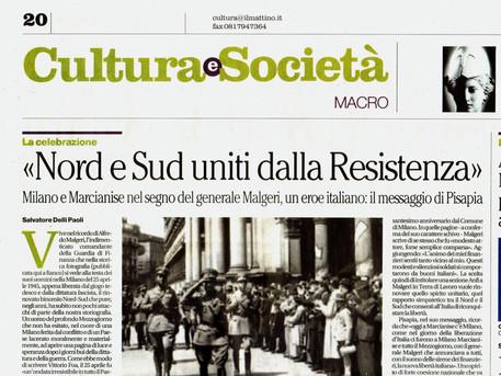 NORD E SUD UNITI DALLA RESISTENZA