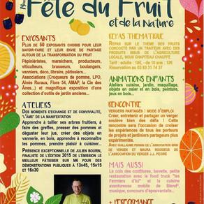 Fête du fruit et de la nature de CHENICOURT