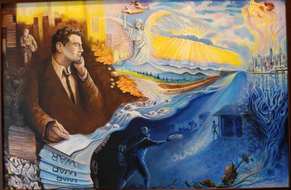 Tribute to Author Thomas Wolfe