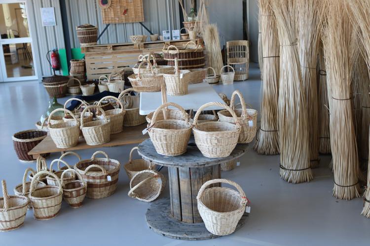 Notre production de paniers