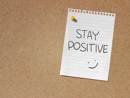 Week 50: Stay Positive