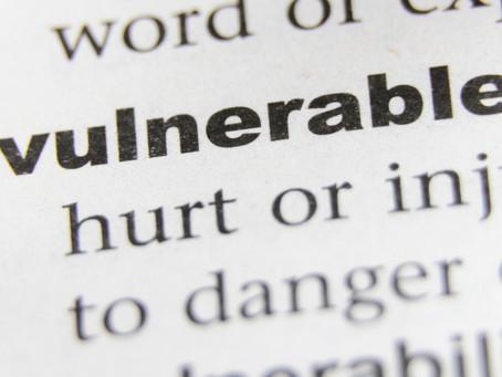 Week 31: Be Vulnerable