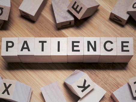 Week 41: Patience