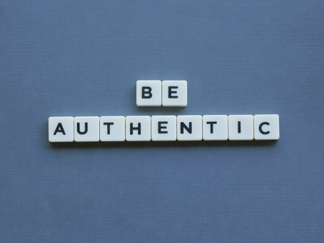 Week 44: Be Authentic