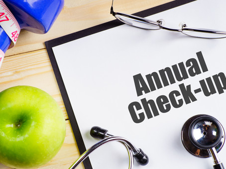 Week 35: Annual Check Up