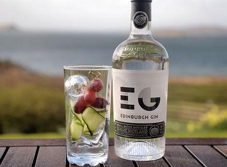 Edinburgh gin at the egremont
