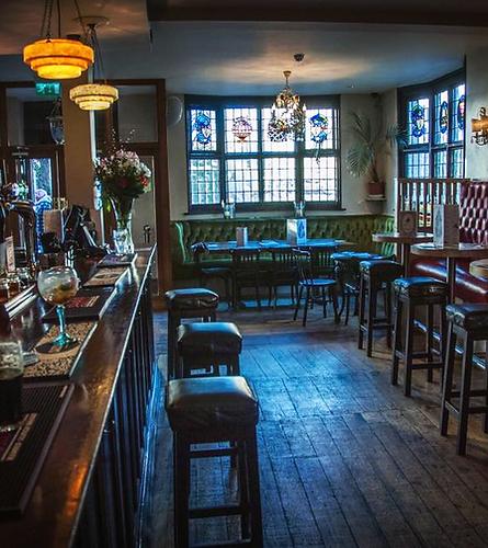 The Egremont bar