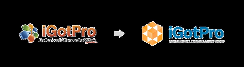 iGotPro logo design | Adam Morris Brand Consultant