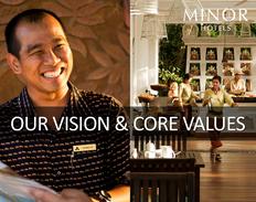 OUR VISION & CORE VALUES