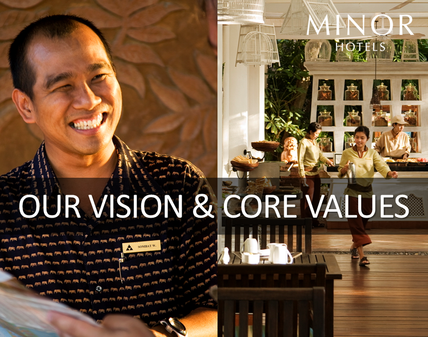 OUR VISION & CORE VALUES