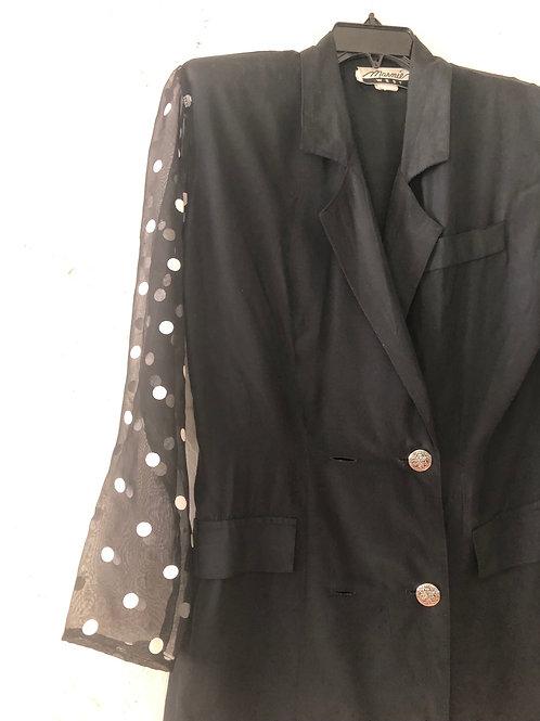 Vintage 'Wizness' Suit Jacket