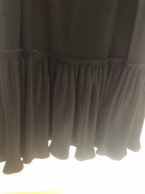 Long Black Vintage Maxi skirt