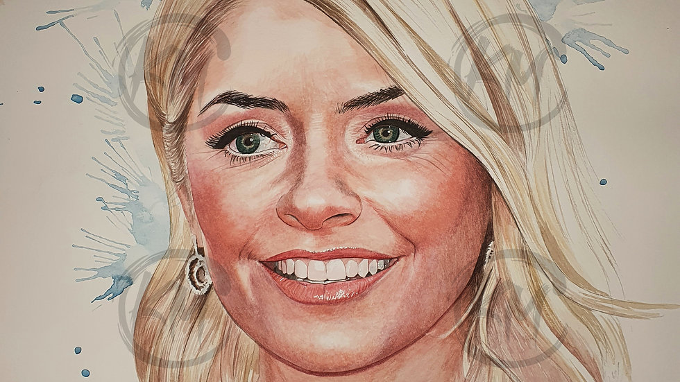 Holly Willoughby Print