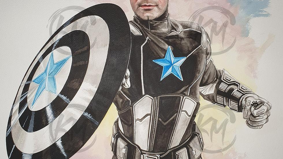 Captain Shearer Print