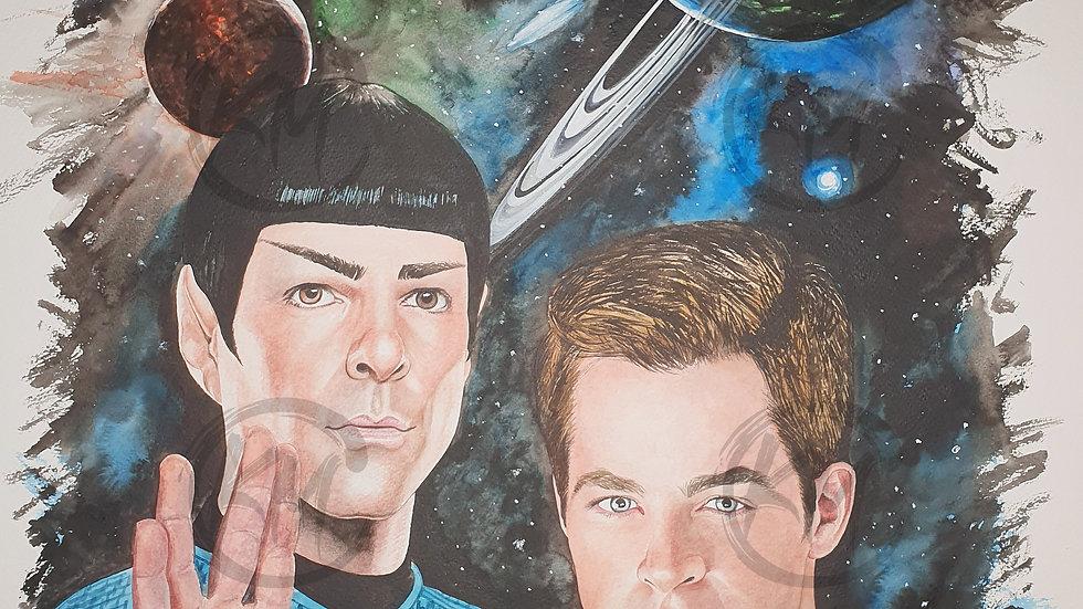 Star Trek Modern Era Print