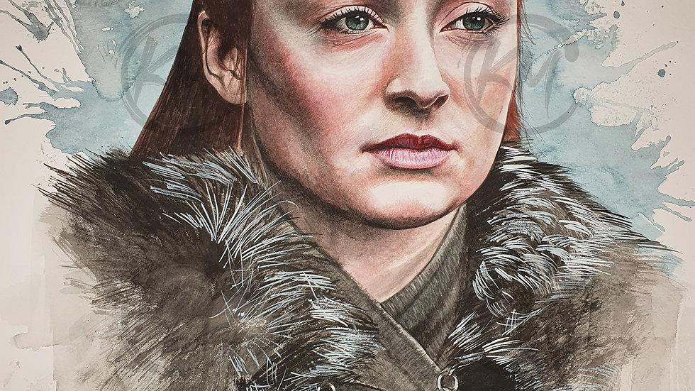 Sansa Stark Print
